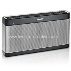 New Bose Announces SoundLink Bluetooth Speaker III Silver Black