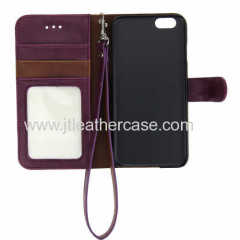 Cases for both 4.7 inch and 5.5 inch screen Apple iPhone 6 Wallet case