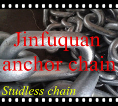 studless anchor chain links