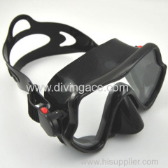 professional tempered PVC Scuba Diving Mask