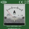 panel analog current meter