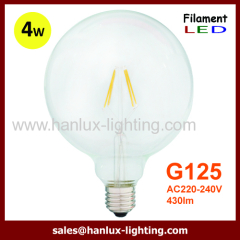 E27 4W COB G125 LED Filament bulbs