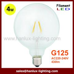E27 4W COB G125 LED Filament bulbs
