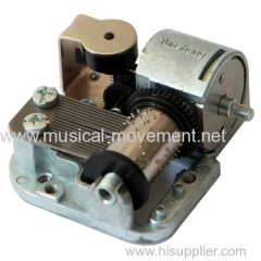 Easy Operating Windup Musical Box Mechanisms