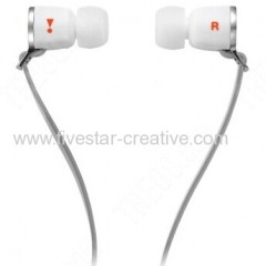 J33i Wired Headphones Earphones with Microphone Earbuds white