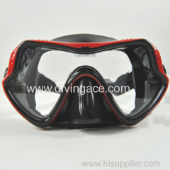 Classic Free Dive One-Window Silicone Diving Mask