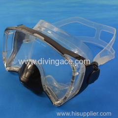 New rubber classic diving glasses