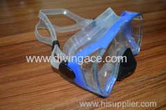 Protection safety PVC swimming mask