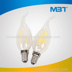C35 filament led lamps