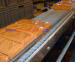 E40 Flat top plastic conveyor belt 40mm pitch
