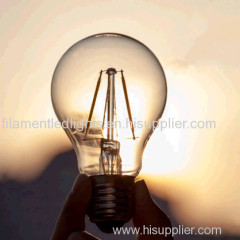 A60 filament led lamps