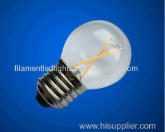 G45 filament led lamps