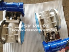 UB6(904L) Non-Lubricated Plug Valve