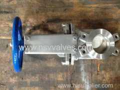 SS Non-Rising Stem Knife Gate Valve