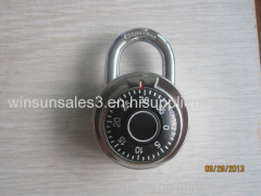 Diameter 50mm round combination padlock