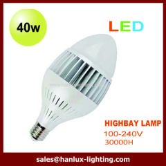 40W LED high bay lighting bulb
