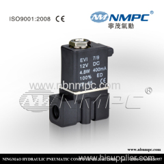 2P025-08 PLASTIC water air oil gas pneumatic Plastic solenoid valve 1/4 2 ways 110v 220v AC 24V 12V DC lead wire