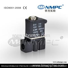 2P025-08 ПЛАСТИК вода воздух нефтяного газа пневматические пластиковые электромагнитный клапан 1/4 2 способа 110v 220v AC 24V DC 12V подводящий провод