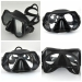 Low Volume Black Silicone diving Mask
