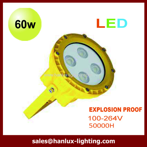 pendant 60W LED explosion proof light