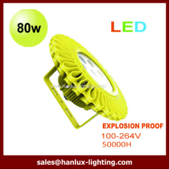 pendant 80W LED explosion proof light