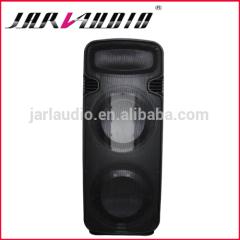 dual 15inch plastic speaker