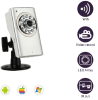 TI Solution Two-way Audio High Quality Night Vision Wifi CCTV Camera