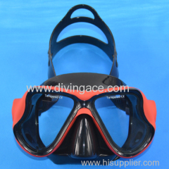 Genuine fashion rubber diving mask