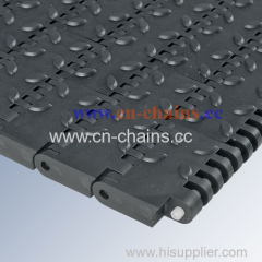 40mm pitch conveyor belt friction top used in industry to avoid slip