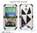 Heavy Duty Hybrid Ru-gged Armor Rubber Matte Hard Case Cover For HTC ONE 2 M8 FREE