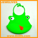 Most popular silicone baby bibs with animal face design