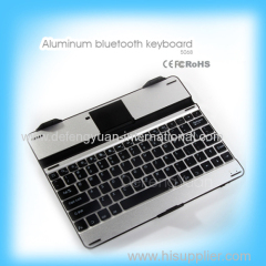 Aluminum bluetooth keyboard for 9.7 inches tablet produce in China