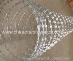 Crossed Coil BTO30 Razor Wire