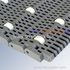 Pitch 40mm sliding roller belt straight running conveyor belt for industry