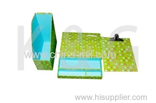 Printed box documents box