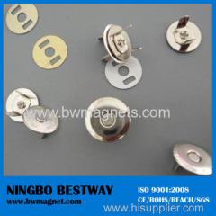 Strong NdFeB Magnet Disc for hand bag magnet