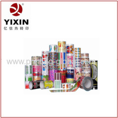 Plastic Wooden Metal Products Heat Transfer Printing Foils