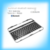 Wireless mini aluminum bluetooth keyboard for Samsung Tab3 10.1 P5200