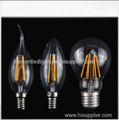 C35 led filament lights
