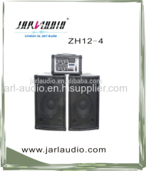 portable pa combo speaker system power mixer and passive wooden speaker