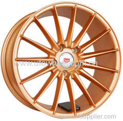 New design gold color alloy wheels