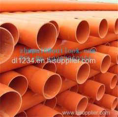CPVC pipe CPVC tube CPVC pipe for cable protection