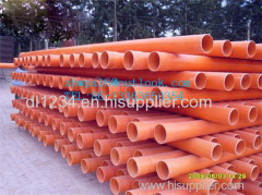 Orange CPVC PIPE CPVC cable pipe