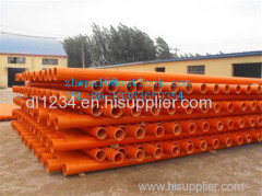 PVC pipe PVC tube PVC pipe for cable protection