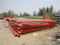 CPVC high pressure electric cable protection pipe