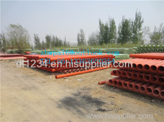 PVC C cable protection pipe PVC C communication pipe