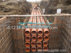 PVC C pipe for cable casing