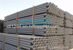 Large Diameter CPVC /UPVC pipe for water system