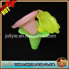 4oz disposable shaved ice flower cup