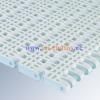 series E50 Flush Grid PU modular conveyor belt can be used in dishwash machinery